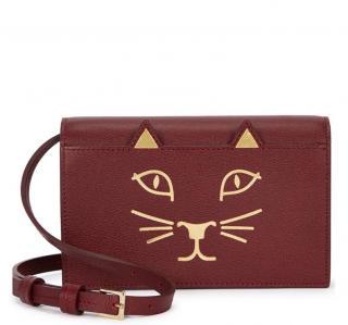 Charlotte Olympia Feline Purse W/ Shoulder Strap
