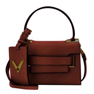 Valentino Burgundy My Rockstud Bag