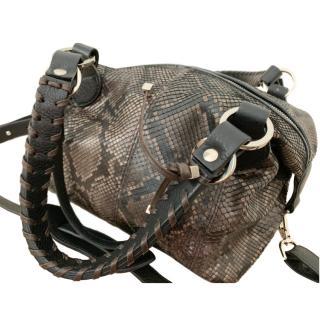6e22443d4a29 Pauric Sweeney Python Shoulder Bag