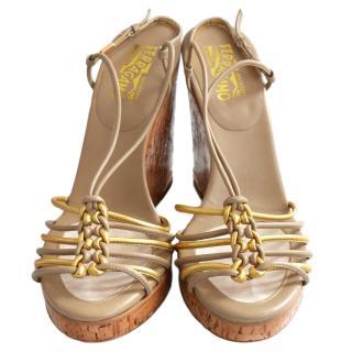 Salvatore Ferragamo Bitia Wedge Sandals