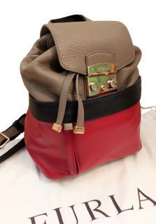 Furla colour-block backpack