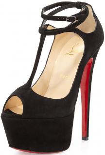 Christian Louboutin 160mm talitha suede Sandals