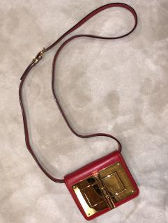 Tom Ford Red Small Natalia Crossbody Bag