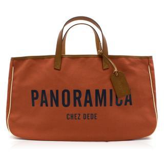 Chez Dede Cabas Panoramica Riviera Tote Bag