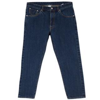 Anglo Italian Denim Dark Blue Jeans