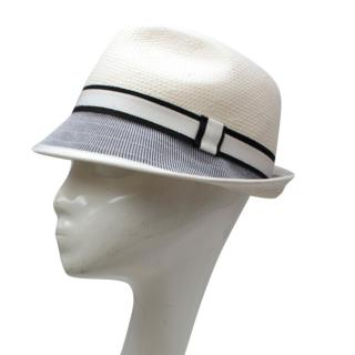 Bernstock Speirs White Trilby Hat