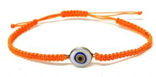 Ileane Makri Orange Evil Eye Bracelet