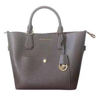 Michael Michael Kors Greenwich Saffiano Leather Satchel Bag