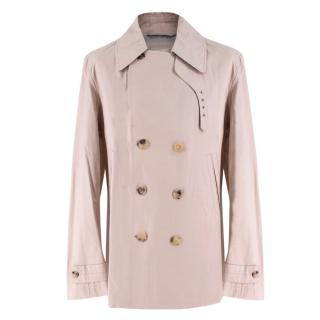 Di Maestro Beige Double Breasted Trench Coat