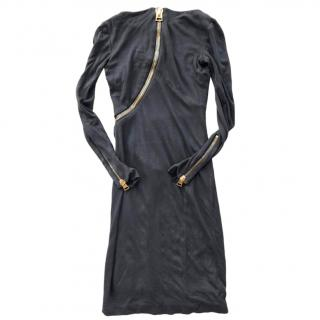 Tom Ford zip-feature jersey dress