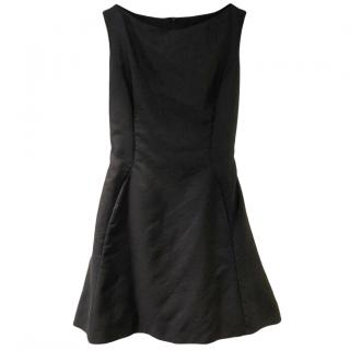 Christian Dior black A-line dress