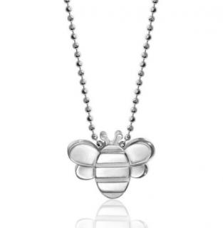 Alex Woo Seasons Bee Pendant Necklace