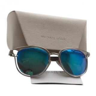 Michael Kors silver framed sunglasses