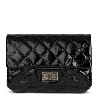 Chanel Black Quilted Reissue Clutch