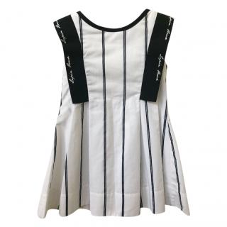 Lapin House striped girl's dress