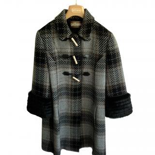 Galliano wool coat
