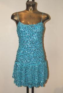 Gabby Harris - Studd pure silk mini-dress, size 8