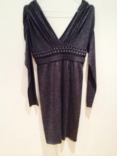 Philosophy Di Alberta Ferretti Knitted Wool Sweater Dress