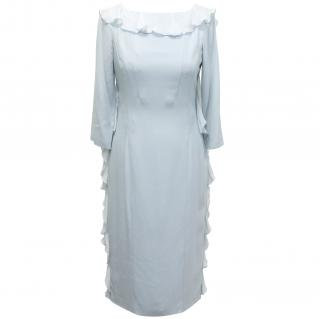 Valentino Roma pale blue dress