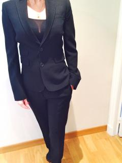 Dsquared2 Black Trouser Suit