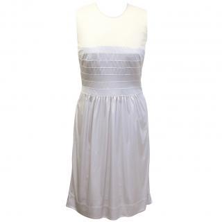 Jasmine di Milo pearly grey dress