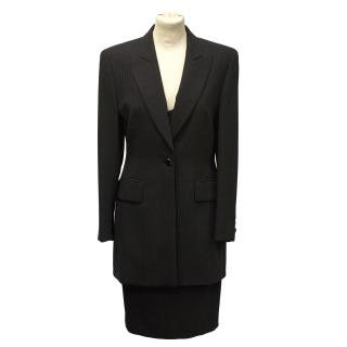 Escada pin striped dress suit