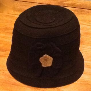 Galeria Lafayette brown wool hat
