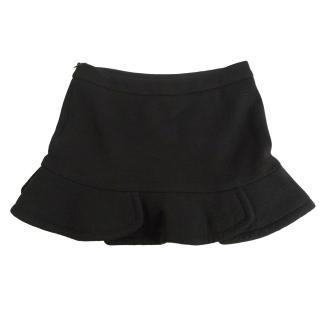 Maje black skirt