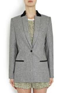 New Zoe Jordan harvey wool jacket