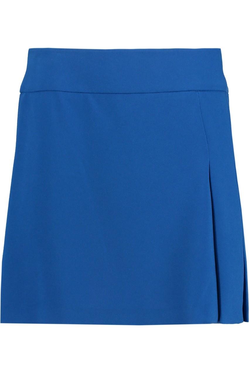 Joseph Blue Mini Skirt