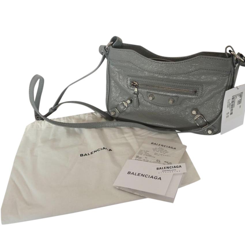 Balenciaga City Hip Mini Leather Crossbody bag