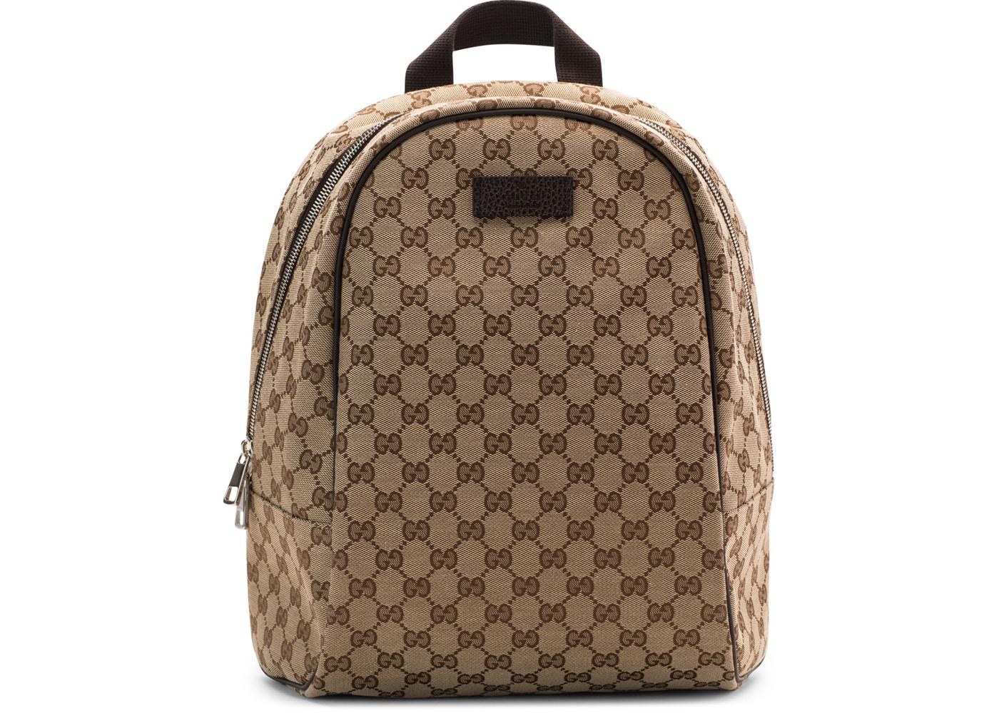 665c737dc Gucci Monogram Supreme Canvas Zipper Top Backpack | HEWI London