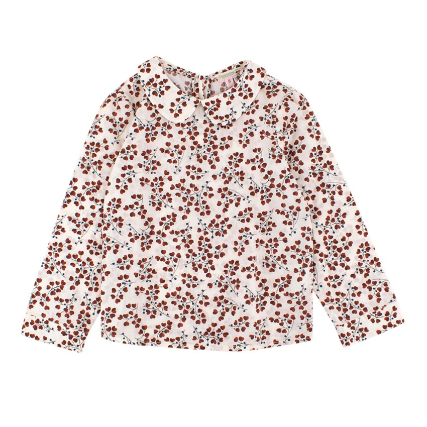 Bonpoint Girls Floral Print Top