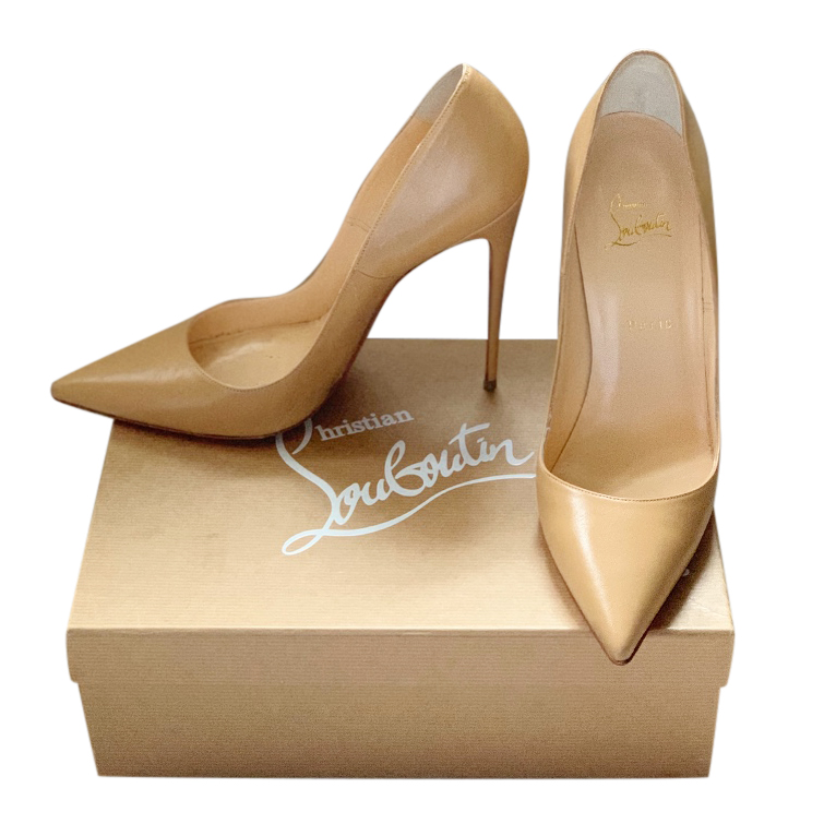 detailed look a079f 443ae Christian Louboutin Nude So Kate 120 Pumps