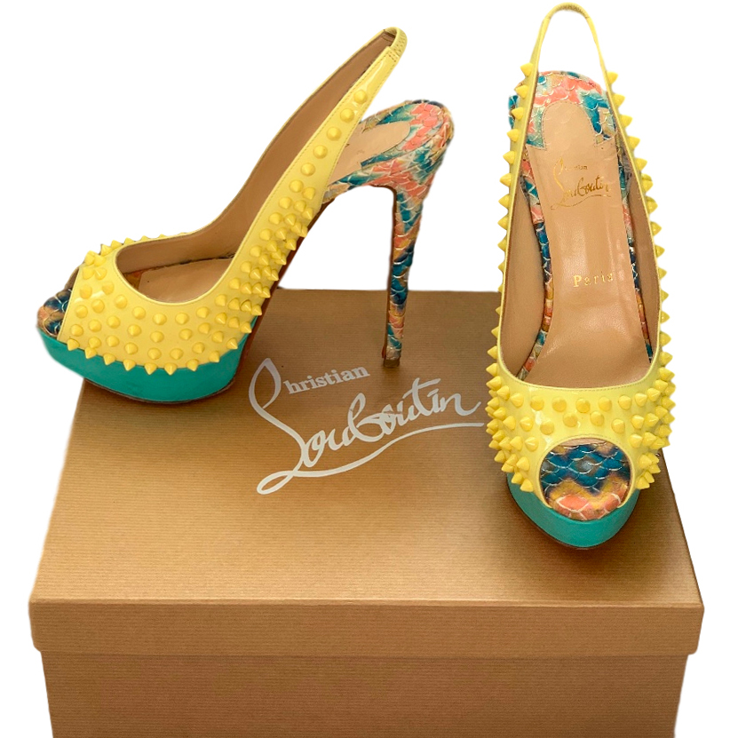 Christian Louboutin Limited Edition Lady Peep 150 Sandals