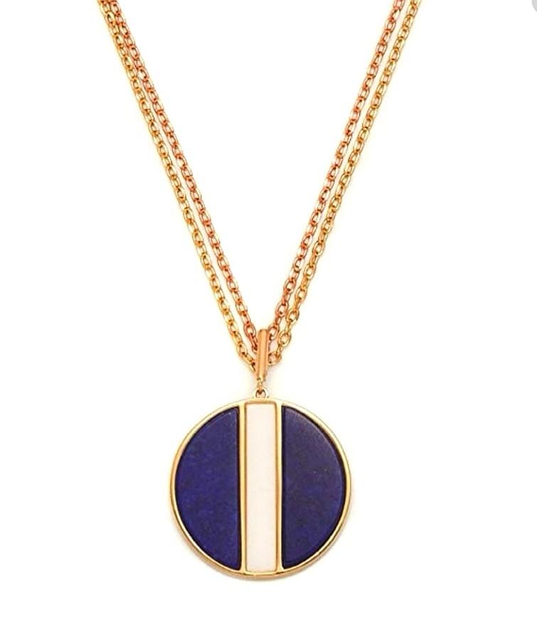 Loll Rose Lapus Lazuli handmade pendant