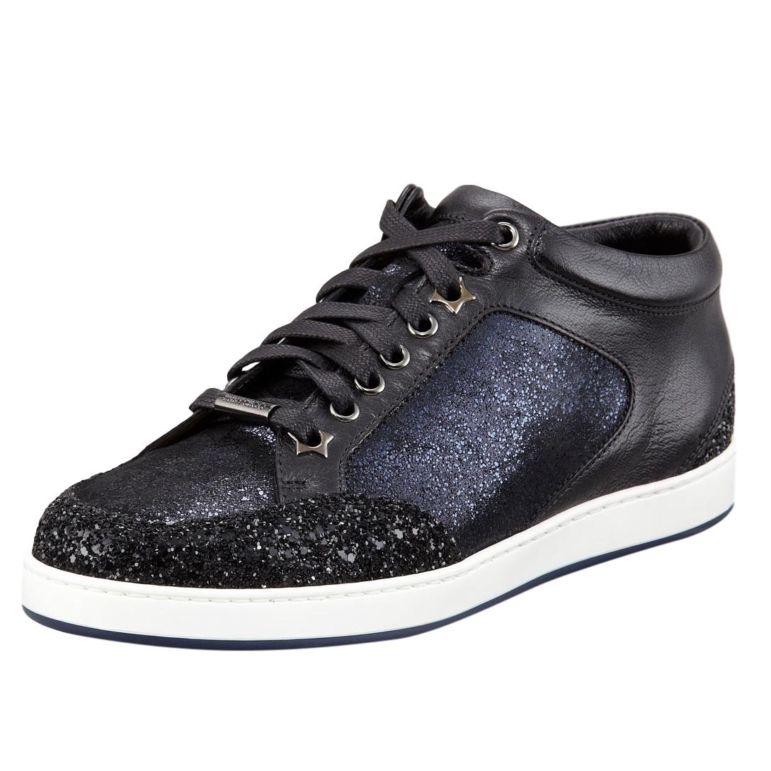 f3d2188bcfd1 Jimmy Choo Miami Glitterpanel Shoes | HEWI London