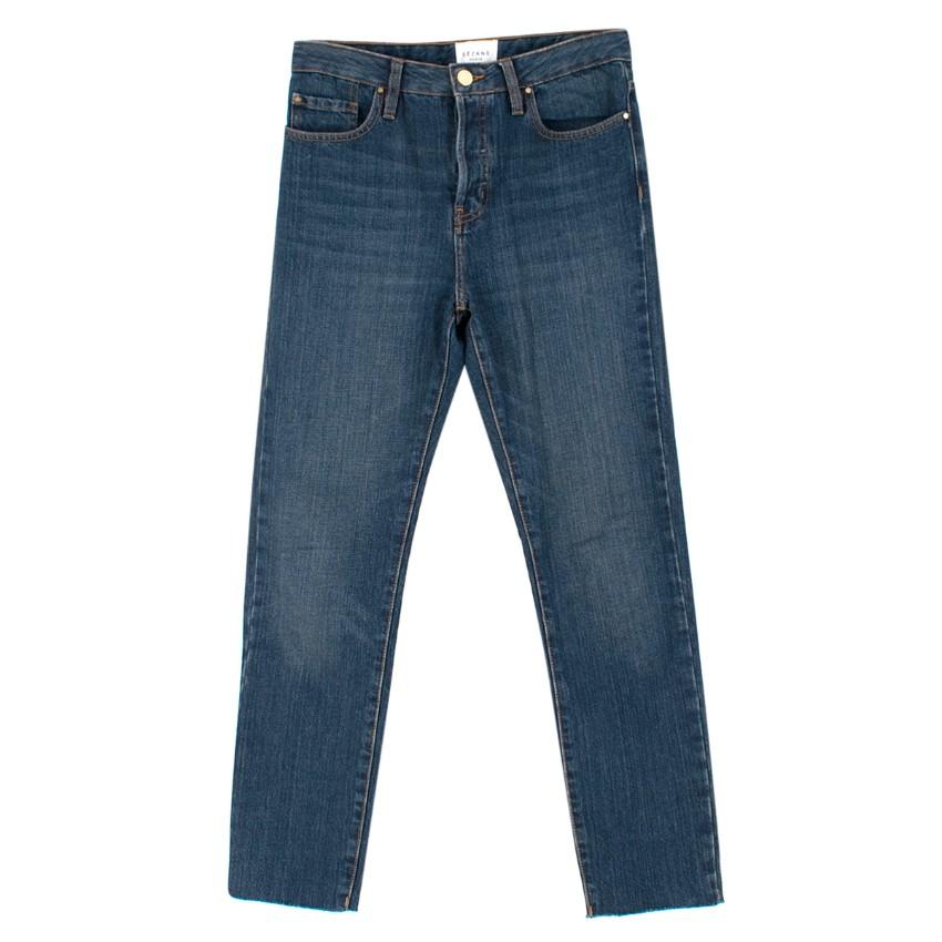 Sezane The Brut Sexy 1967 Mid-Blue Denim Jeans