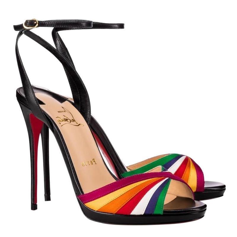 Christian Louboutin Naseeba 120 leather sandals
