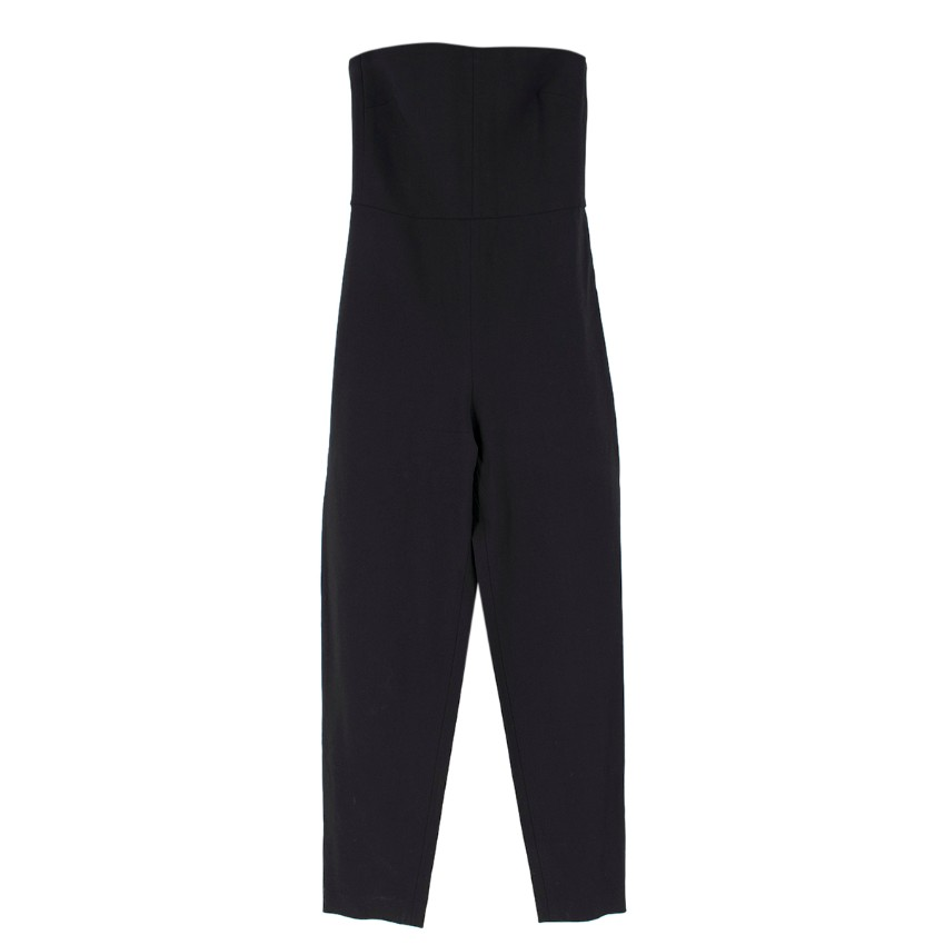 Club Monaco Collection Black Bandeau Jumpsuit