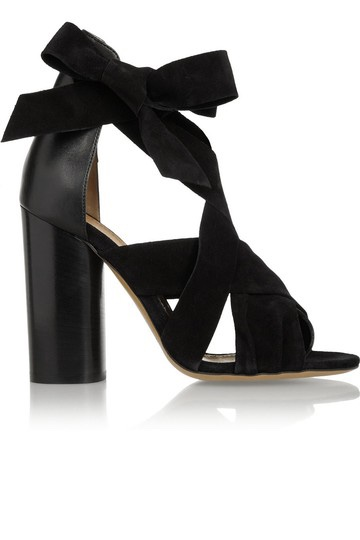 Isabel Marant Strappy Suede Sandals
