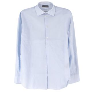 Kilgour Light Light Blue Cotton Pique Shirt