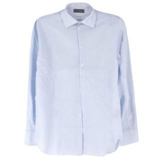 Kilgour Light Light Blue Cotton Pique Shirt