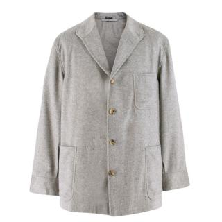 Bel y Cia Light Grey Cashmere Jacket