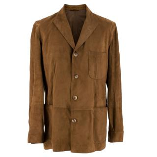Bel y Cia Brown Suede Jacket
