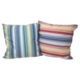 Missoni Multi-Colour Striped Set of Two Pillows