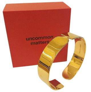 Uncommon Matters gold metal Rondo cuff