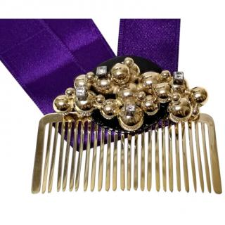 May moma embellished hair comb