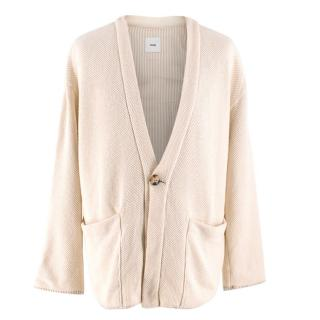Ts(S) Not So Hard Work Beige Knit Cardigan