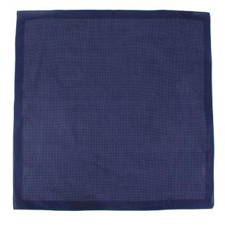 Calabrese Blue Spotted Neck Scarf